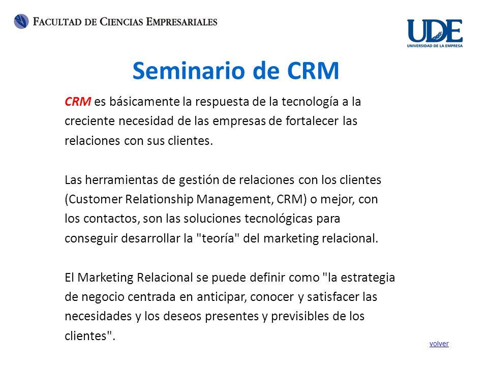 CRM es básicamente la respuesta de la tecnología a la creciente necesidad de las empresas de fortalecer las relaciones con sus clientes. Las herramien