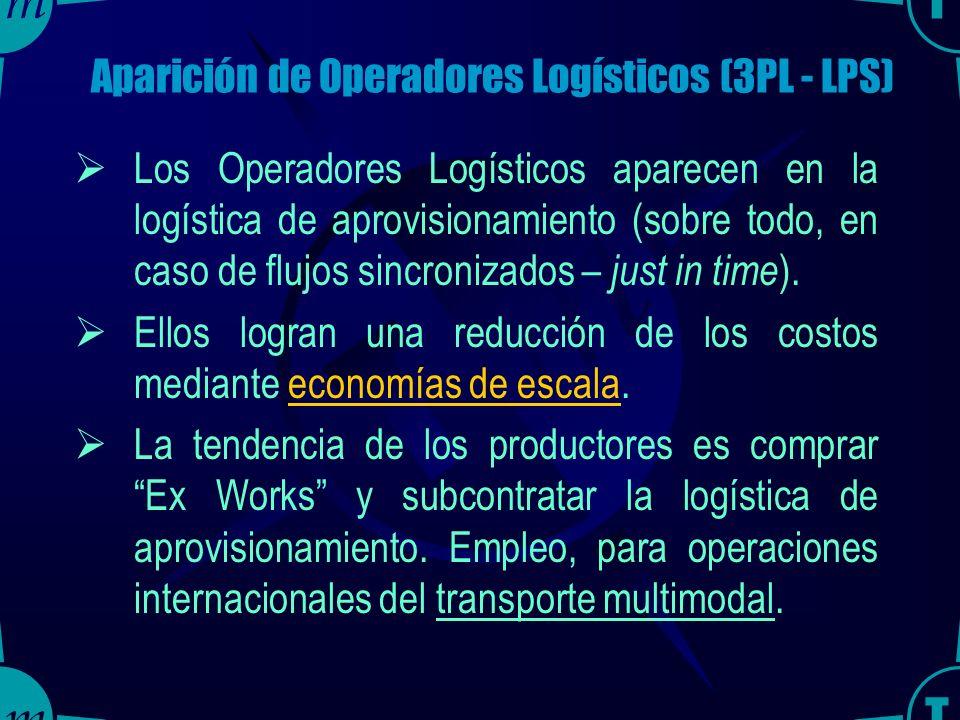 TRAINMAR31 Ventajas de la Tercerización Incrementa el valor de los servicios logísticos porque el proveedor es un especialista en el servicio y obtien