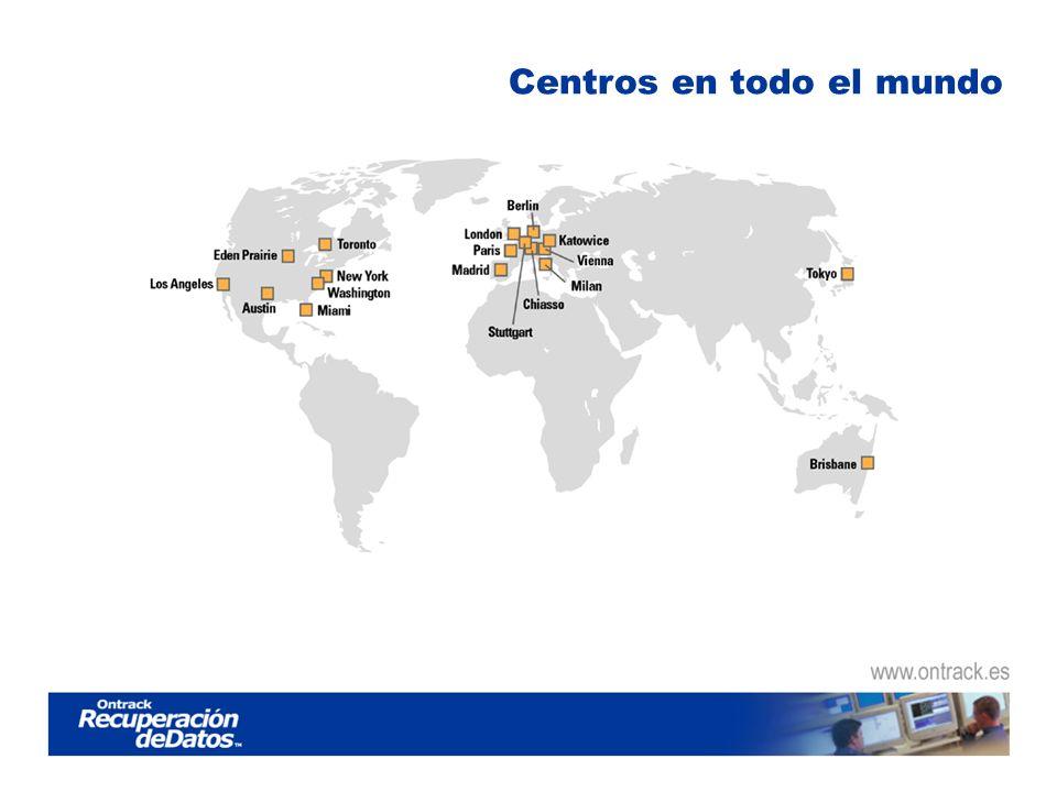 Centros en todo el mundo