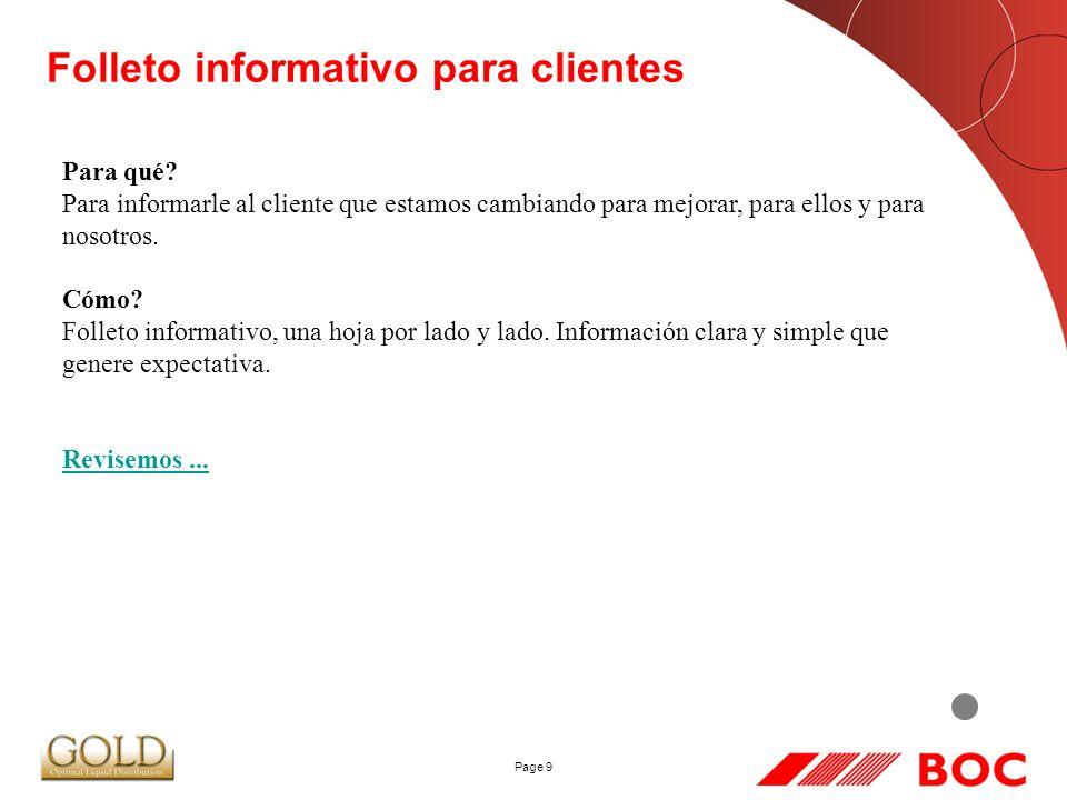 Page 9 Folleto informativo para clientes Para qué.