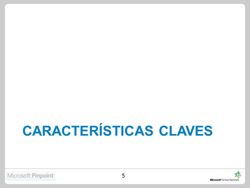 CARACTERÍSTICAS CLAVES 5
