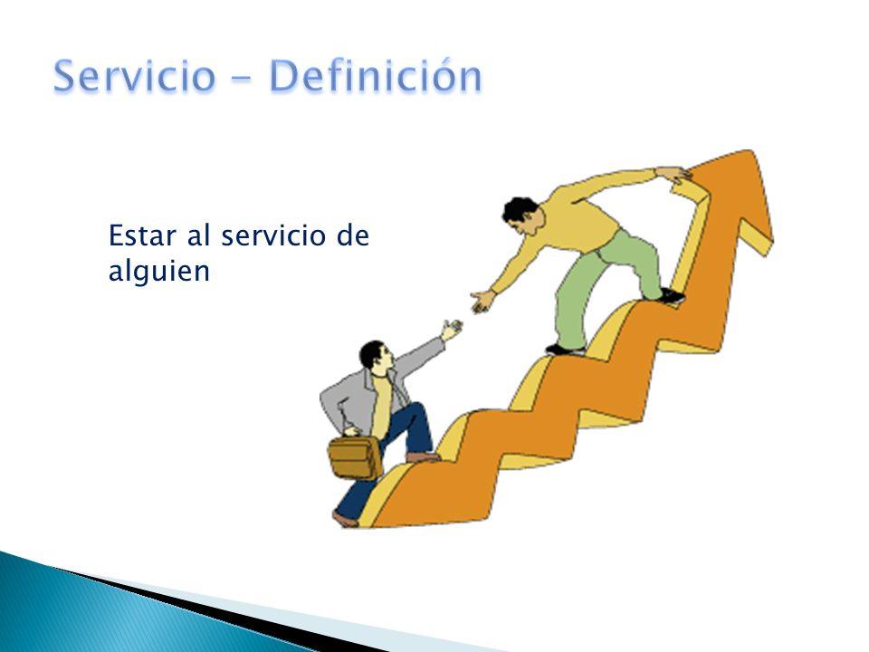 Estar al servicio de alguien