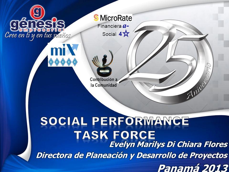 Financiera a- Social 4 Contribución a la Comunidad
