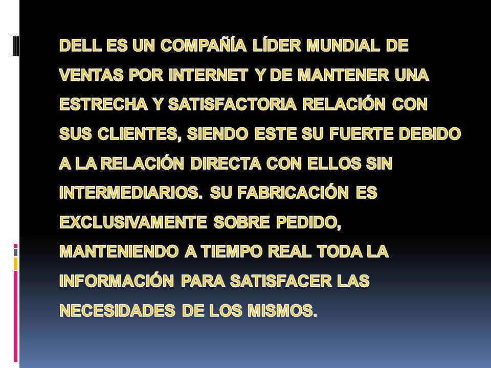 EL DIRECTOR OPERATIVO DE DELL COMPUTER, DR.