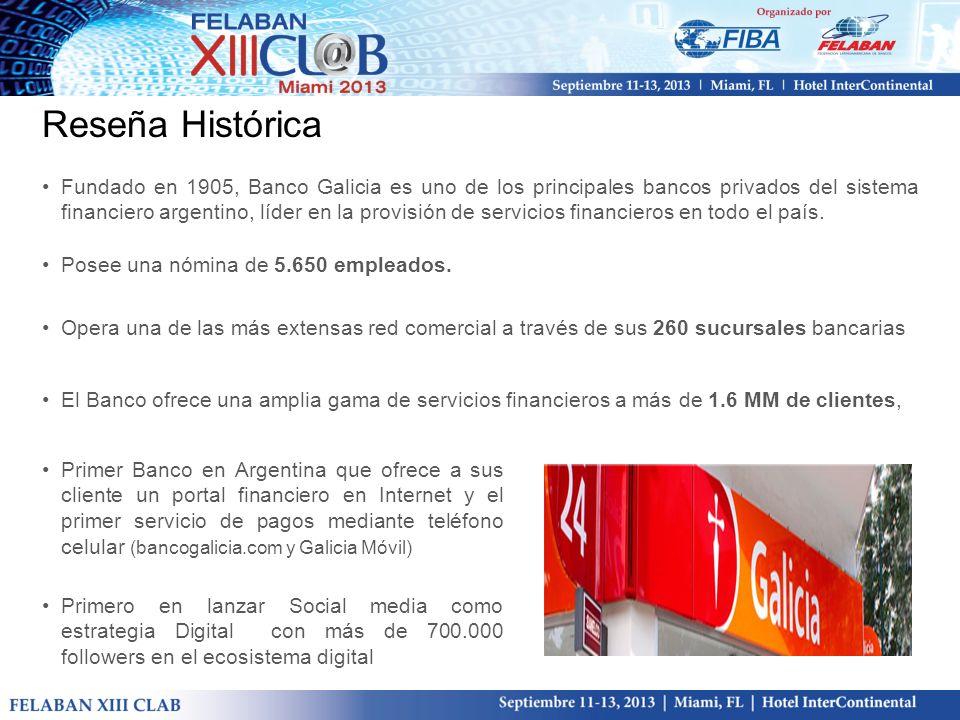 Reseña Histórica Primer Banco en Argentina que ofrece a sus cliente un portal financiero en Internet y el primer servicio de pagos mediante teléfono c