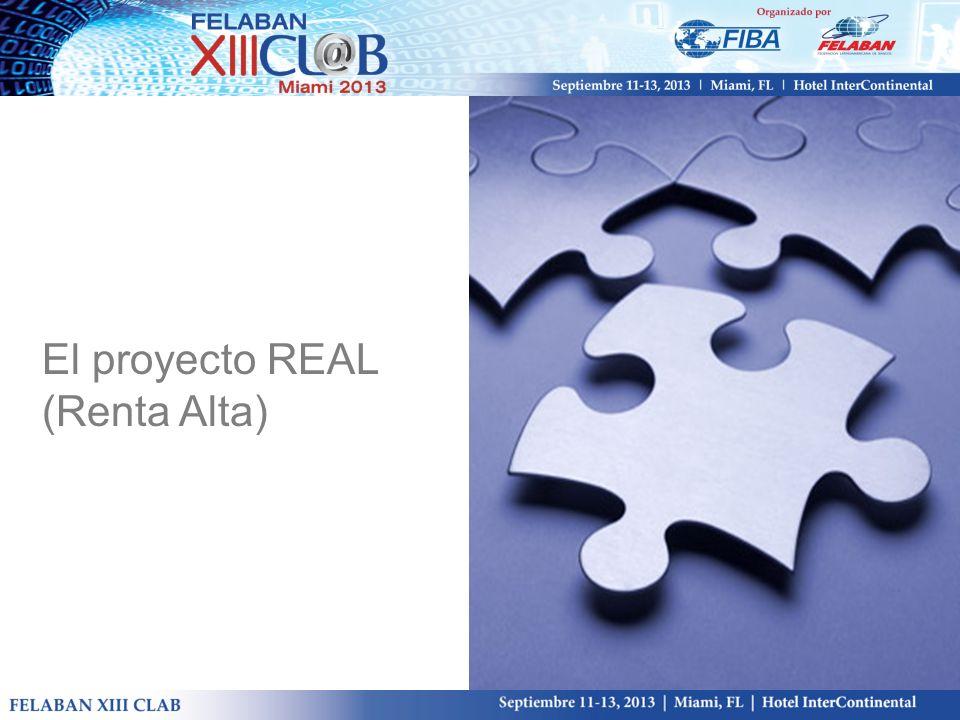 El proyecto REAL (Renta Alta)