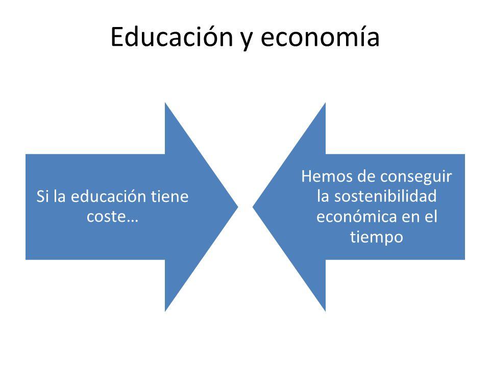 Familia Vedruna y economía