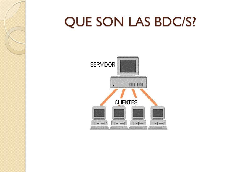 CARACTERISTICAS En la arquitectura C/S el remitente de una solicitud es conocido como cliente.