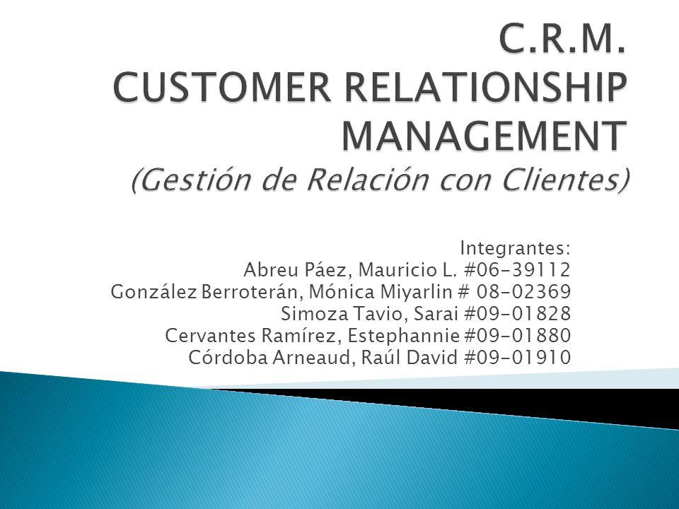 OPERACIONAL Sistematización de los datos de los clientes.