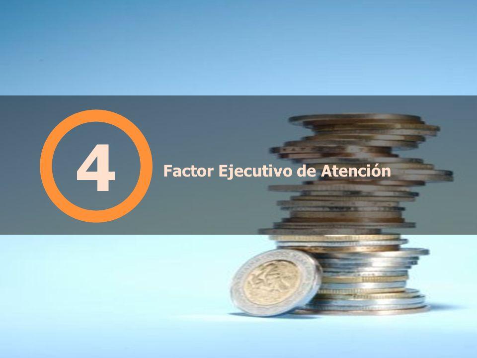 Factor Ejecutivo de Atención 4