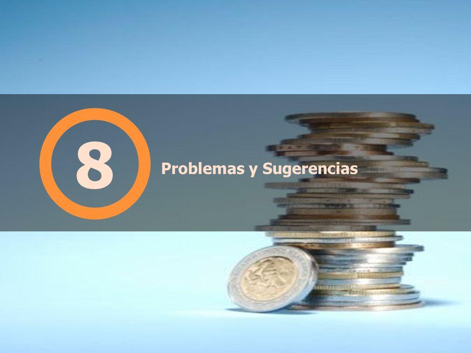 Problemas y Sugerencias 8
