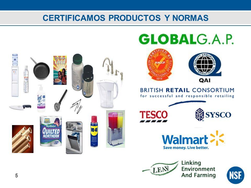 CERTIFICAMOS PRODUCTOS Y NORMAS 5
