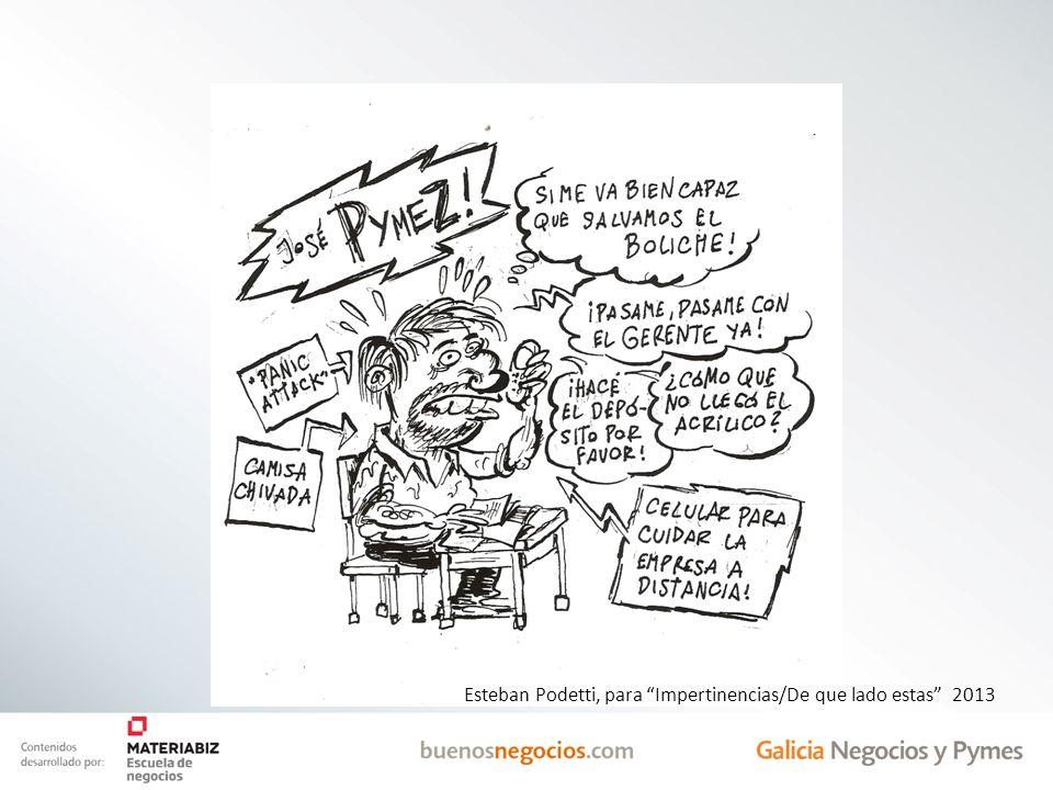 Esteban Podetti, para Impertinencias/De que lado estas 2013
