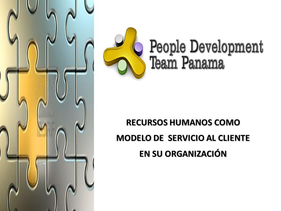 RECURSOS HUMANOS COMO MODELO DE SERVICIO AL CLIENTE EN SU ORGANIZACIÓN