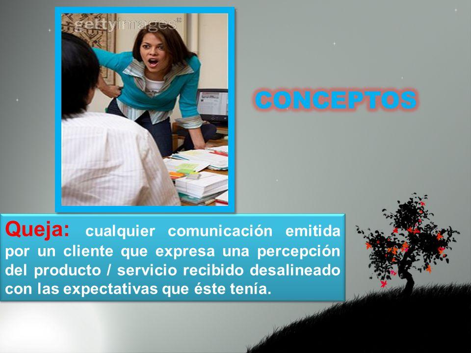 Es un mecanismo creado para que el cliente pueda presentar quejas, así, como otras comunicaciones que pueden consistir en sugerencias