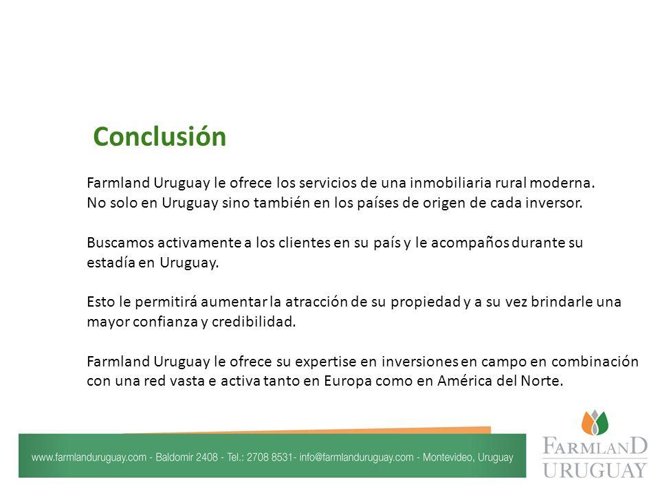 Farmland Uruguay le ofrece los servicios de una inmobiliaria rural moderna.