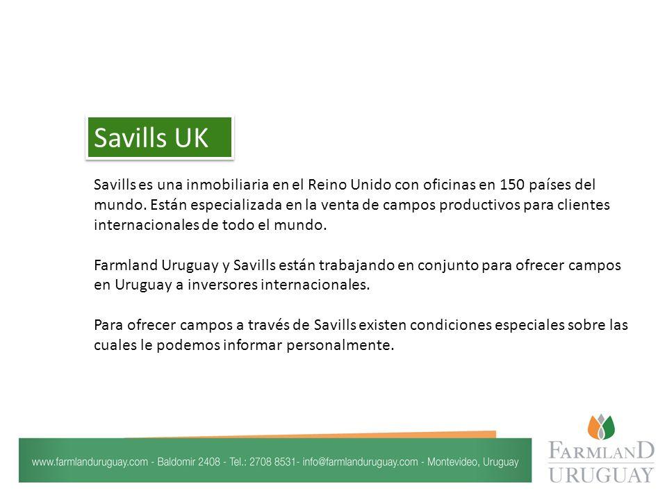Savills es una inmobiliaria en el Reino Unido con oficinas en 150 países del mundo.