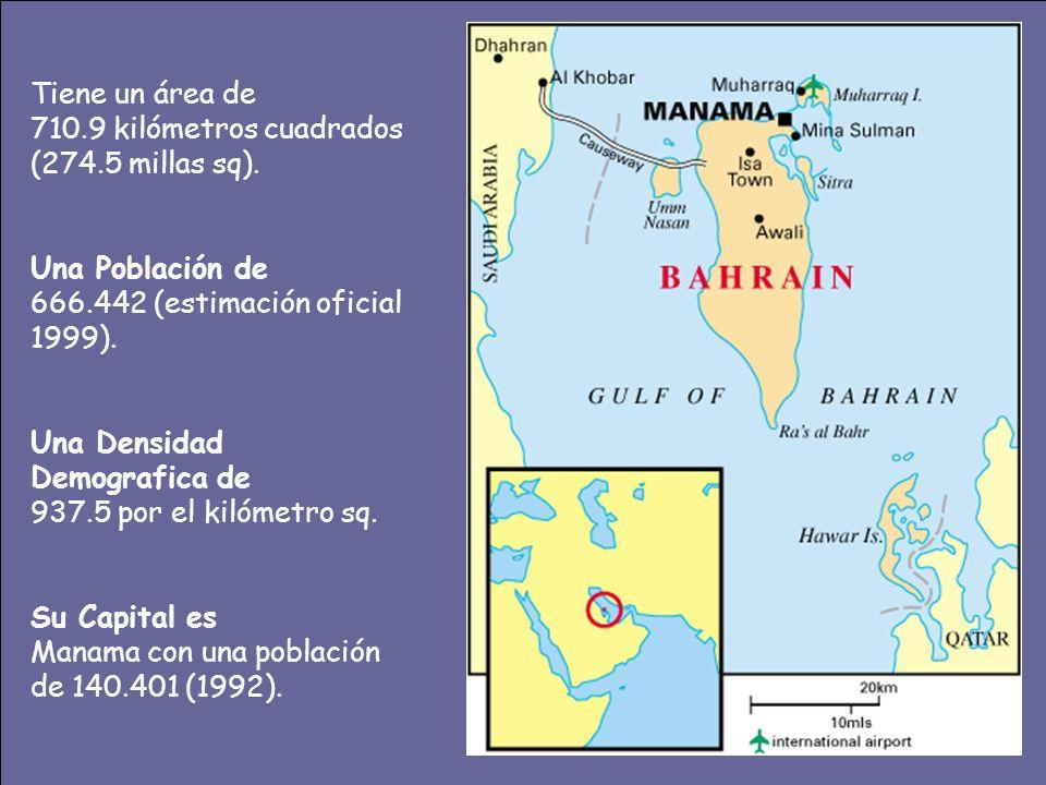 Tiene un área de 710.9 kilómetros cuadrados (274.5 millas sq).
