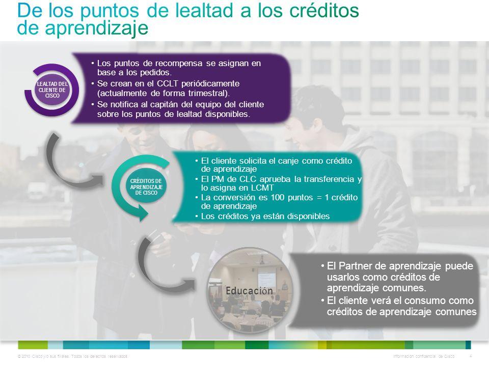 © 2010 Cisco y/o sus filiales. Todos los derechos reservados.