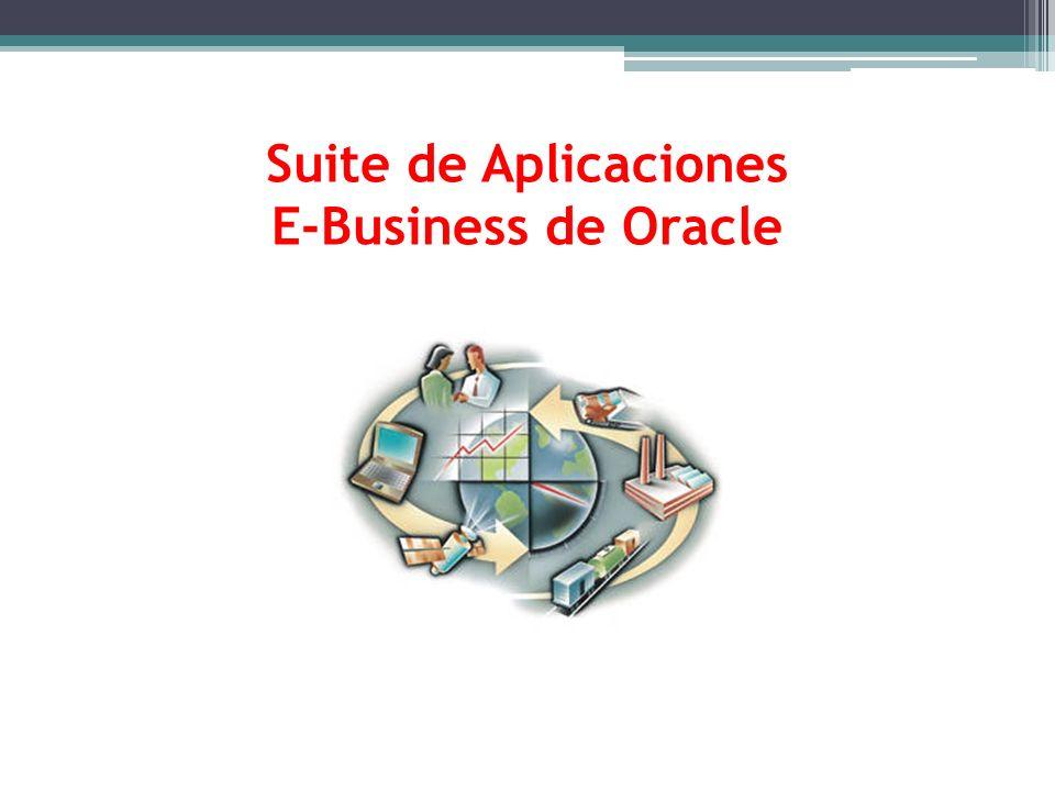 Suite de Aplicaciones E-Business de Oracle