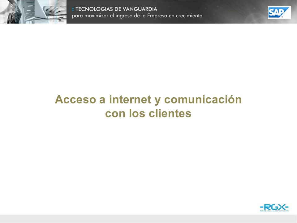 Dispositivos de acceso