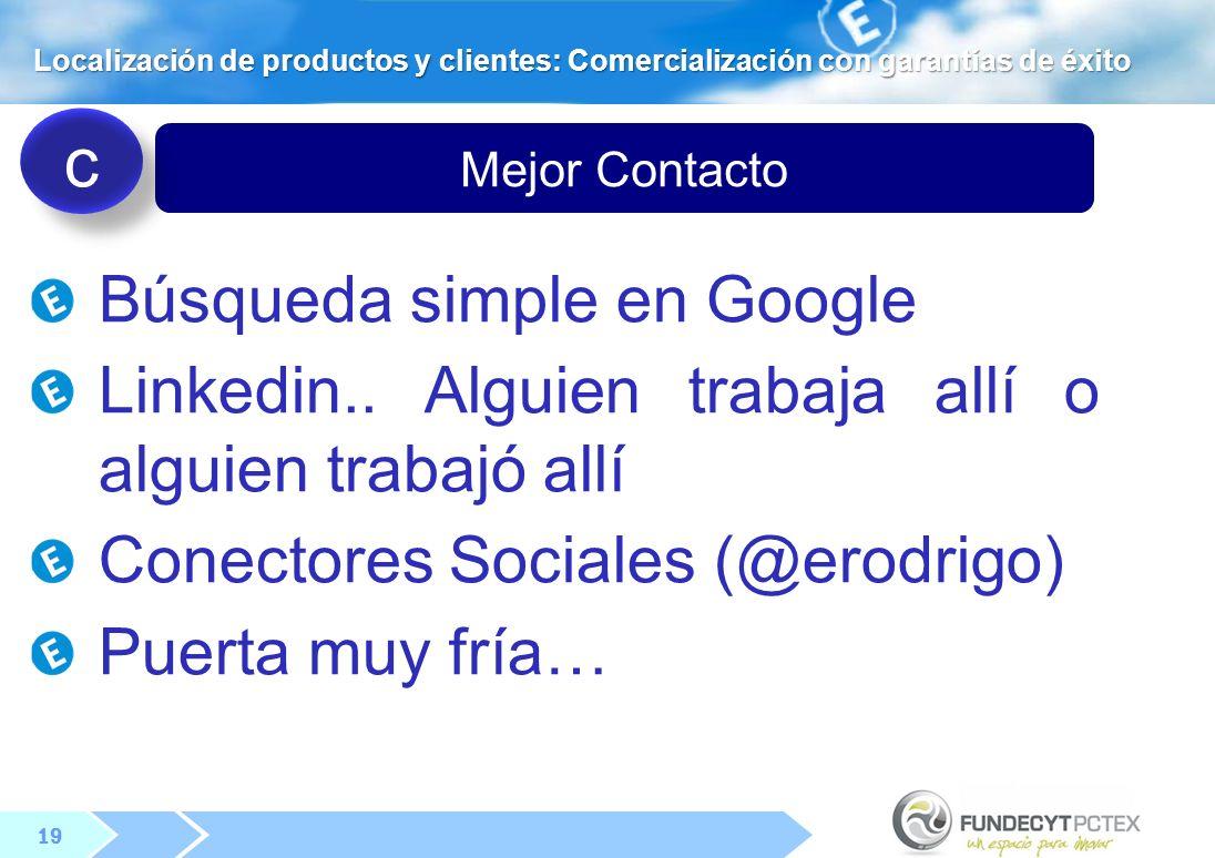19 Mejor Contacto Búsqueda simple en Google Linkedin..