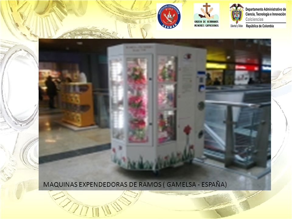 MAQUINAS EXPENDEDORAS DE RAMOS ( GAMELSA - ESPAÑA)