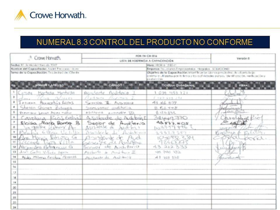 16 Audit | Tax | Advisory © 2011 Crowe Horwath CO S.A.