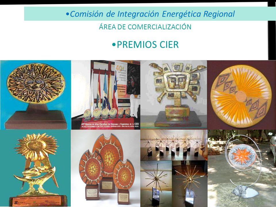 Comisión de Integración Energética Regional PREMIOS CIER ÁREA DE COMERCIALIZACIÓN