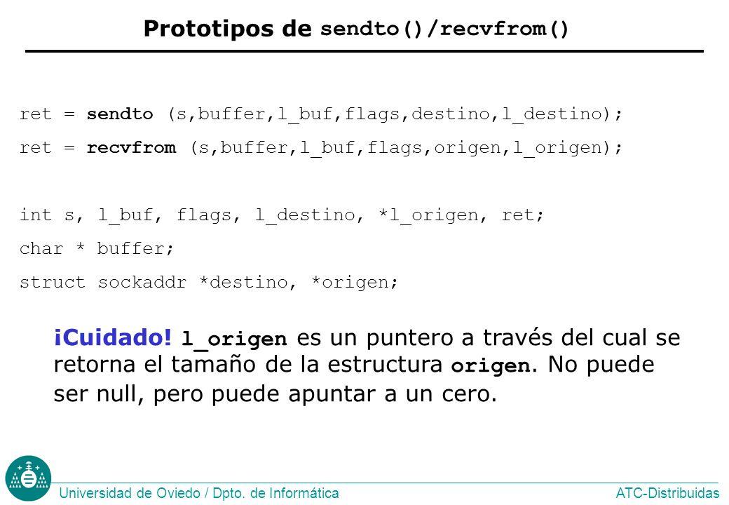ATC-DistribuidasUniversidad de Oviedo / Dpto.