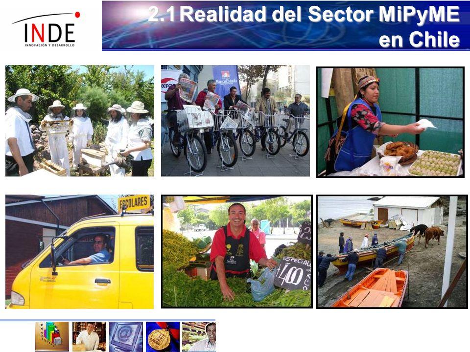 2.1Realidad del Sector MiPyME en Chile