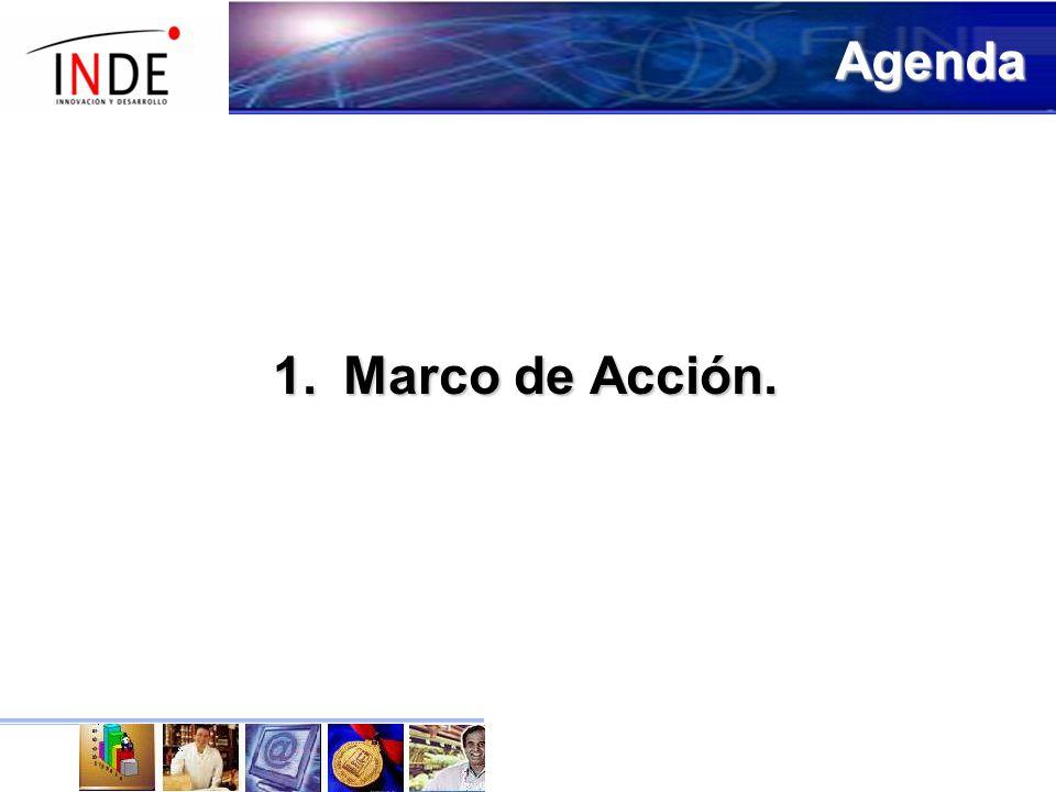 1.Marco de Acción. Agenda