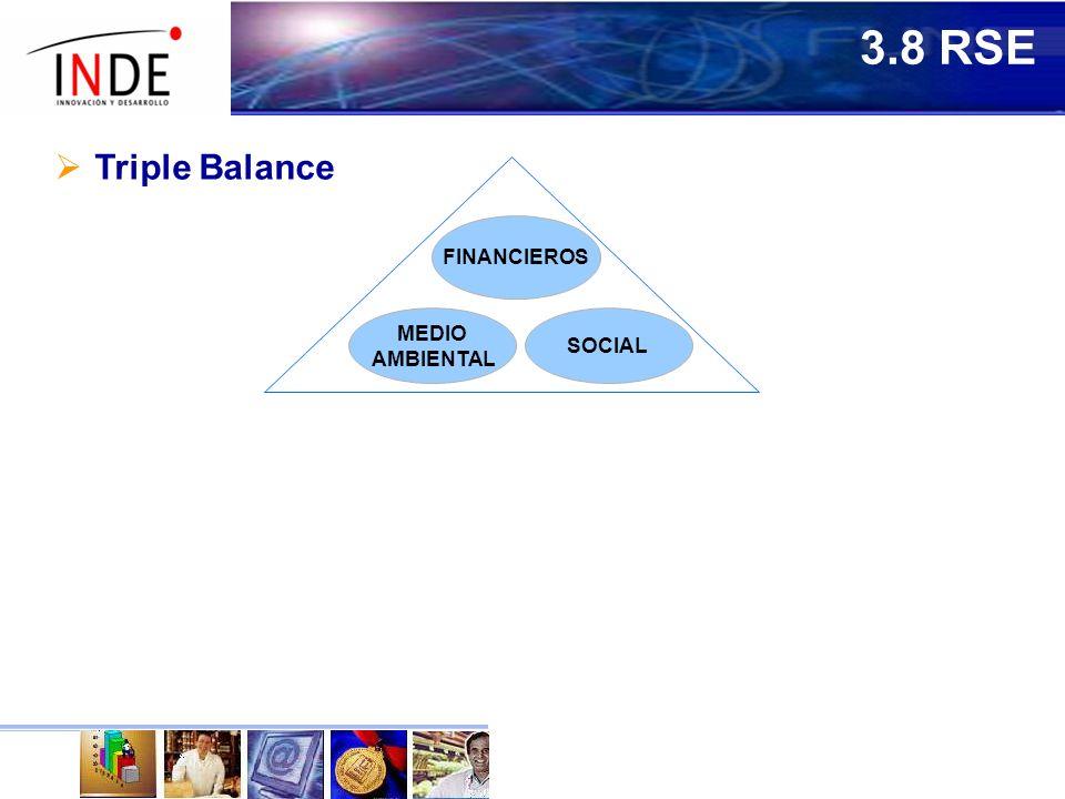 3.8 RSE Triple Balance FINANCIEROS MEDIO AMBIENTAL SOCIAL