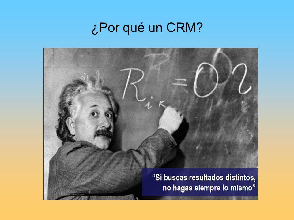 ¿Por qué un CRM?