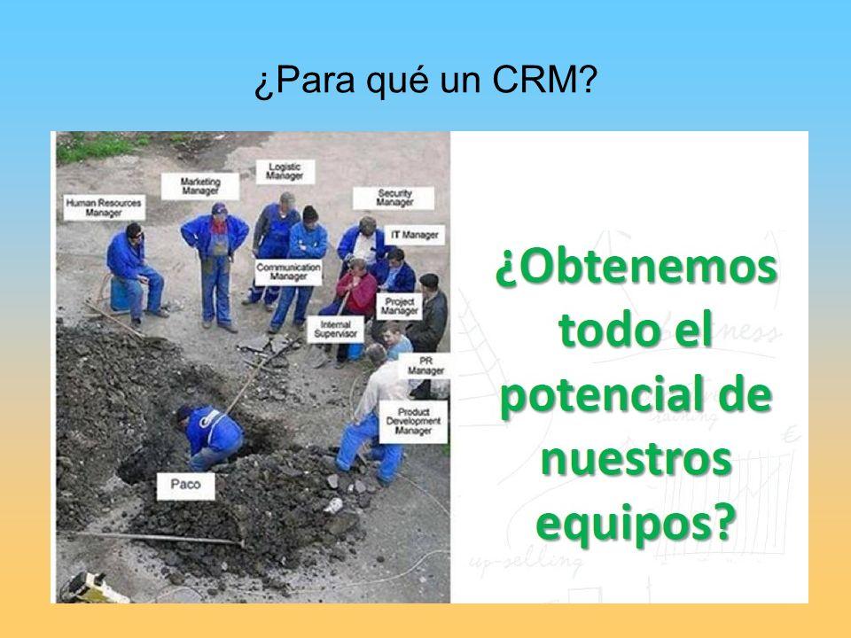 ¿Para qué un CRM?