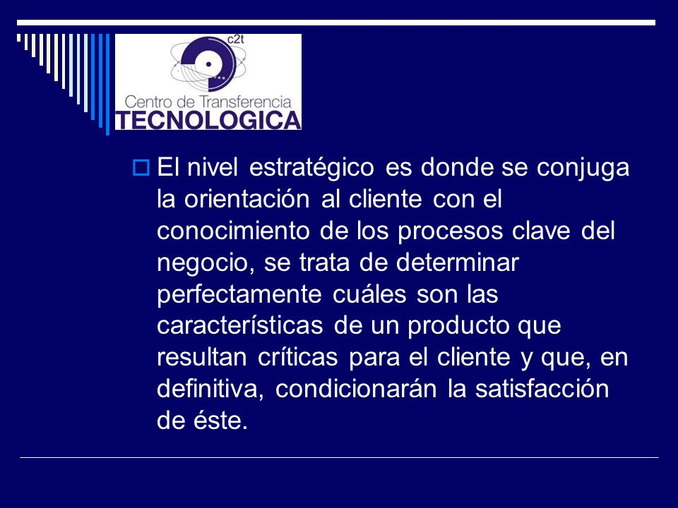 El nivel táctico consiste en el análisis científico de un proceso de producción con el fin de optimizarlo, tanto desde el punto de vista de sus resultados en términos de calidad como de los costes asociados.