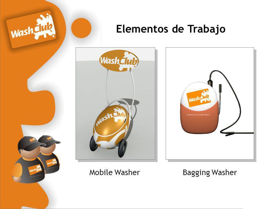 Elementos de Trabajo Mobile WasherBagging Washer
