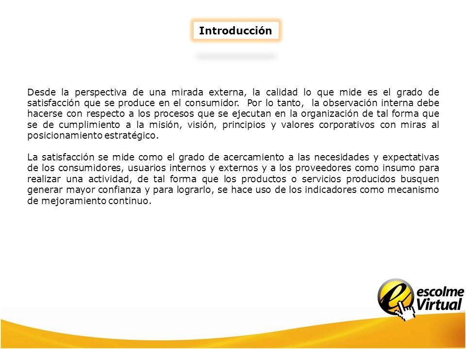INDICADORES DE GESTIÓN Puntualiza los estándares de comparación del indicador.