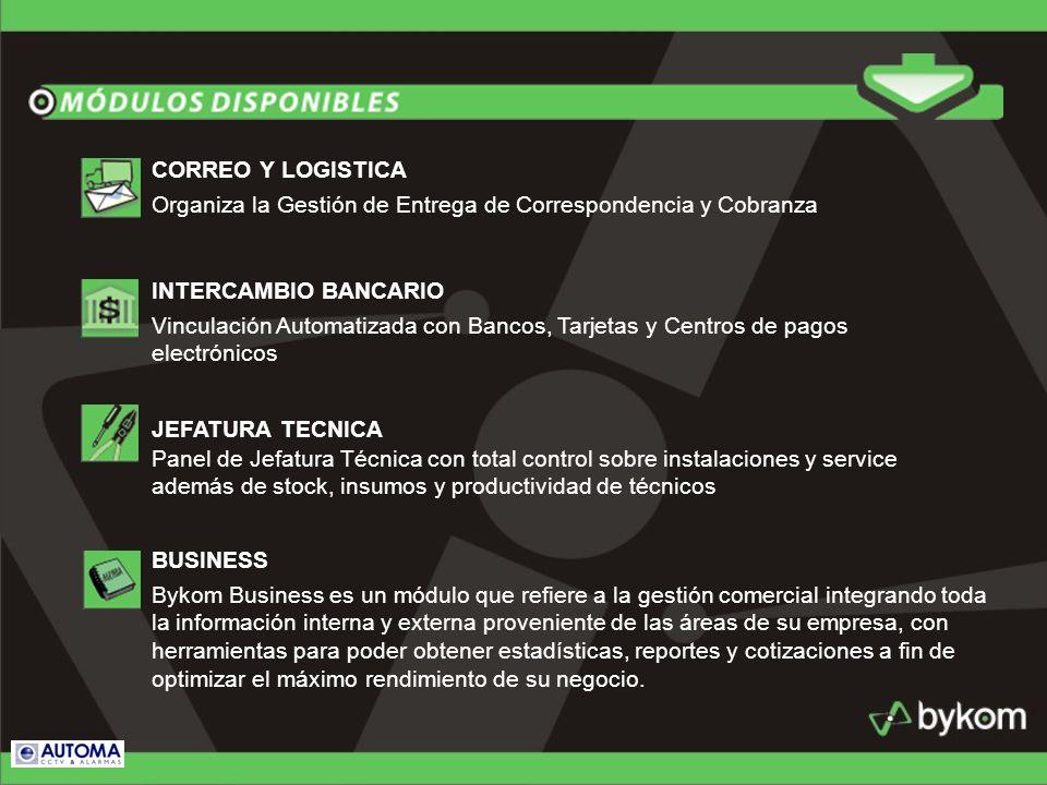 Organiza la Gestión de Entrega de Correspondencia y Cobranza CORREO Y LOGISTICA Vinculación Automatizada con Bancos, Tarjetas y Centros de pagos elect