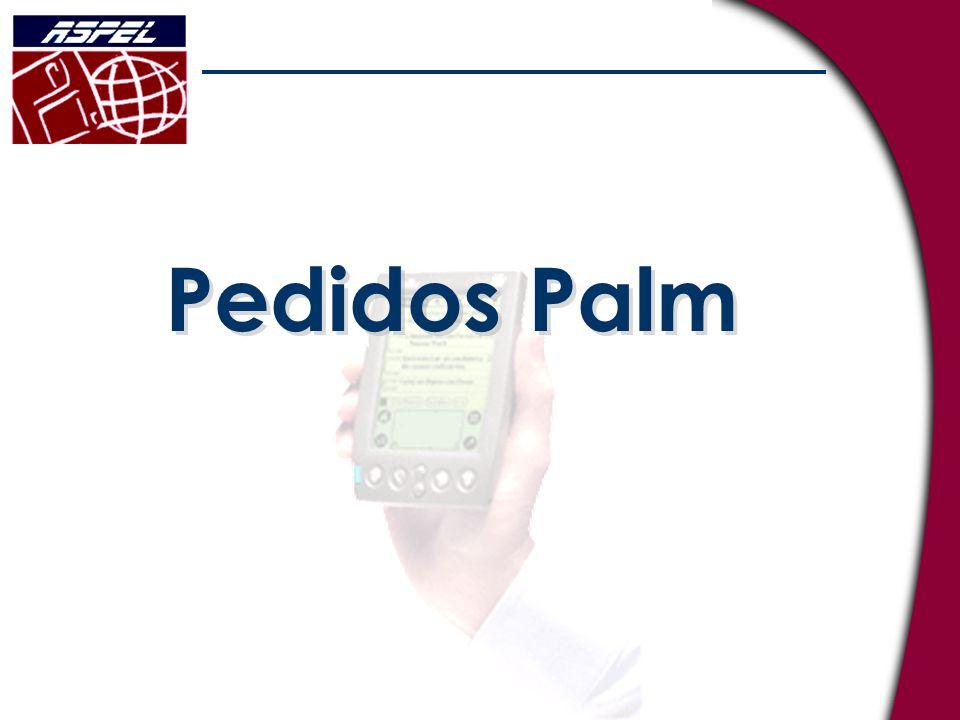 Pedidos Palm