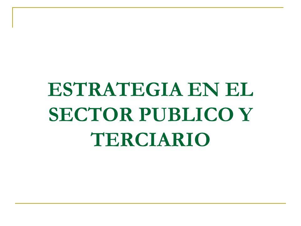 Los temas de la gestión estratégica Cual es nuestro negocio.
