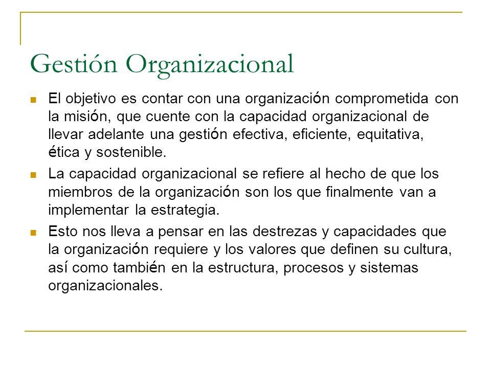 Gestión Programática El objetivo es cumplir con la misi ó n organizacional y crear valor publico a trav é s de un conjunto de pol í ticas programas y