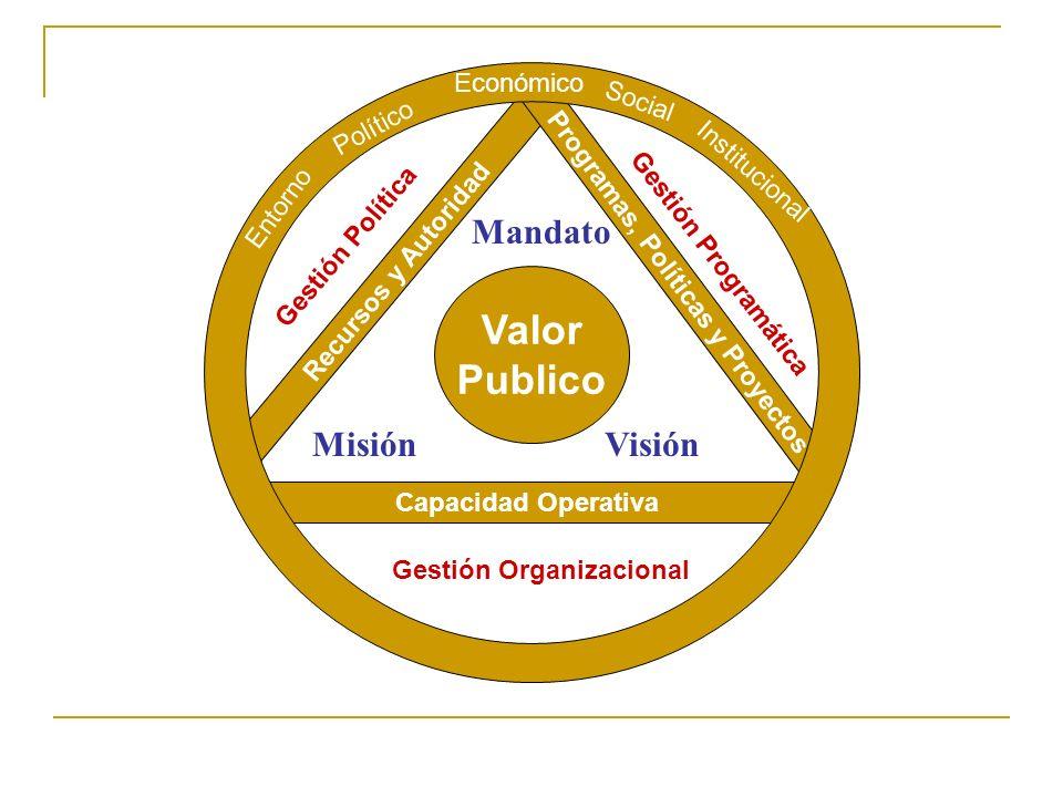 TIPOS DE INNOVACIONES Estratégicas: Nuevo mandato, nueva visión, nuevos objetivos Programáticas: Viejos objetivos, nuevos medios Operativas: Estructura/procesos/medición de desempeño Políticas: Apoyo político, mayores recursos, mayor autoridad