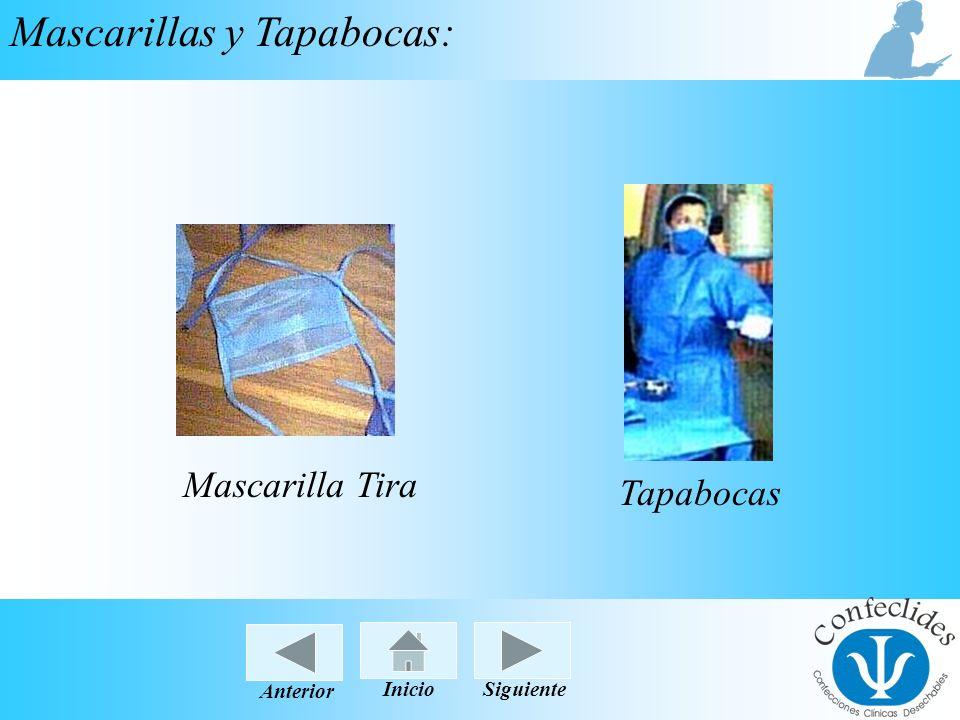 InicioAnteriorSiguiente Mascarillas y Tapabocas: Mascarilla Tira Tapabocas InicioSiguienteAnterior