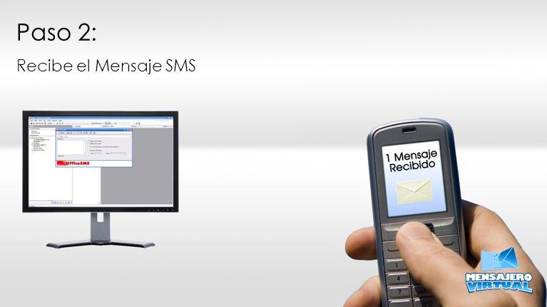 Paso 2: Recibe el Mensaje SMS