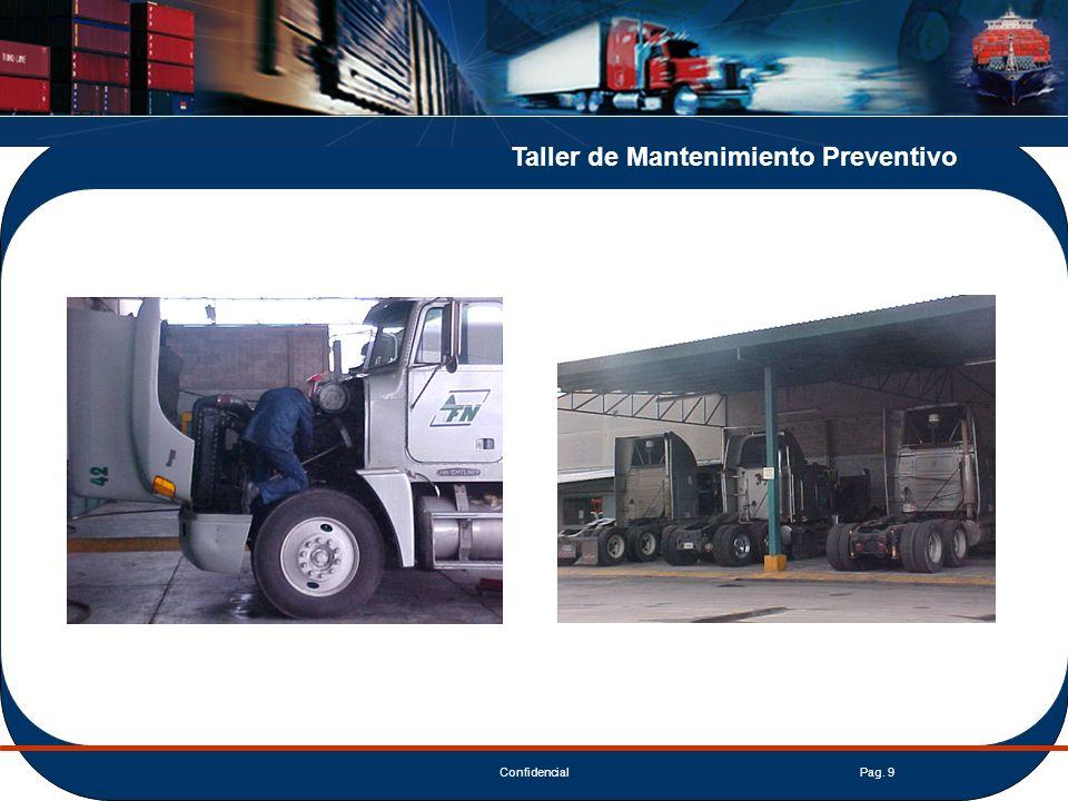 ConfidencialPag. 9 Taller de Mantenimiento Preventivo
