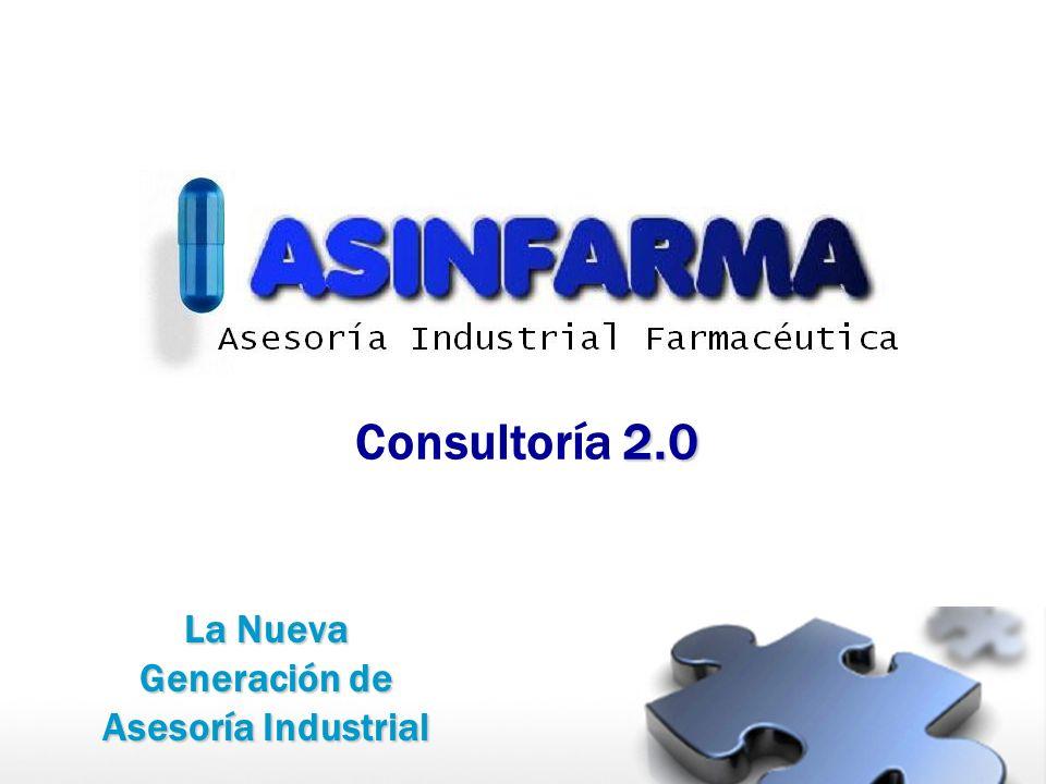2.0 Consultoría 2.0 La Nueva Generación de Asesoría Industrial