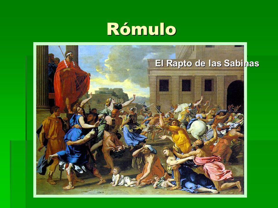 Sucesores de Rómulo Servio Tulio (578 a.C.-535 a.C.) Servio Tulio (578 a.C.-535 a.C.) Servio introdujo importantes reformas sociales, organizando nuevas tribus territoriales, en las que los ciudadanos se integraban según su lugar de residencia.