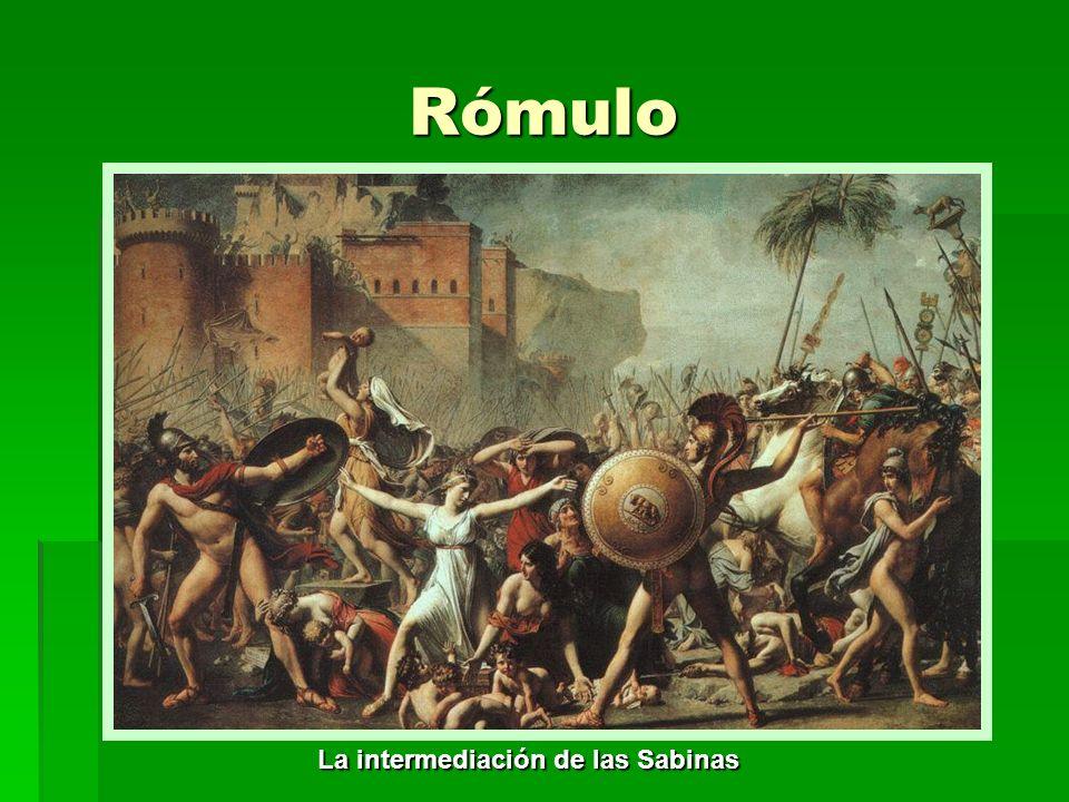 Sucesores de Rómulo: Numa Pompilio (715 a.C.-674 a.C.) Numa Pompilio (715 a.C.-674 a.C.) Numa fue un rey pacífico; se le considera artífice de las instituciones sociales y religiosas de la ciudad.
