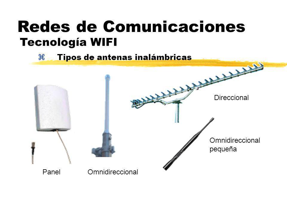 zTipos de antenas inalámbricas Redes de Comunicaciones Tecnología WIFI PanelOmnidireccional Direccional Omnidireccional pequeña